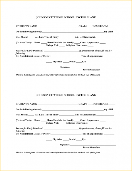 Free Printable Doctor Excuses For Work.68665679   Loan