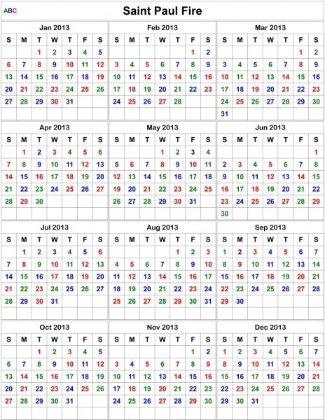 Search Results For Fireman Shift Calendar 2014   Shift Calendar