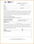 Blank Form For Doctor Note