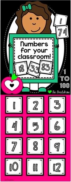 Best 25+ Calendar Numbers Ideas On Pinterest | Number Labels