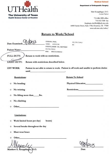 blank printable doctor excuse form iu health