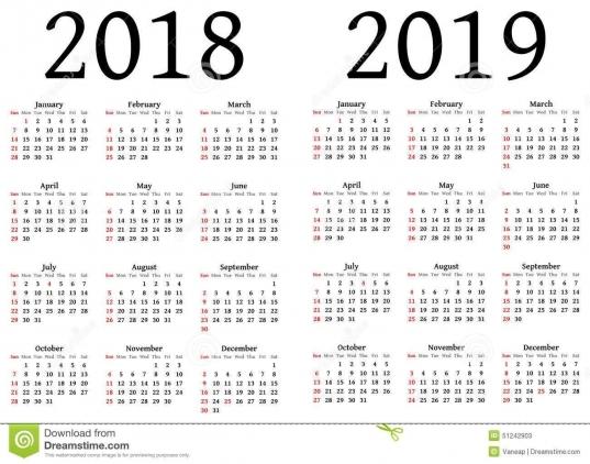 Julian Calendar 2018 | Calendar Printable Free