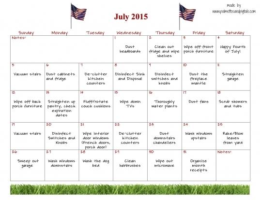 National Day Calendar Printable | Blank Calendar Design 2017