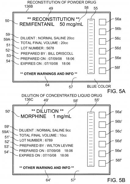 Patent Us8639525   Drug Labeling   Google Patents