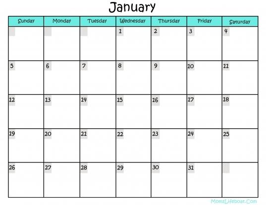 Printable Calendars Download Print