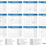Calendario Del Por Semanas