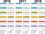 2017-2022 Free Downloadable Philippine Calendar