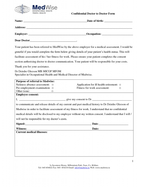 Best Photos Of Blank Doctors Note Template   Fake Doctors Note