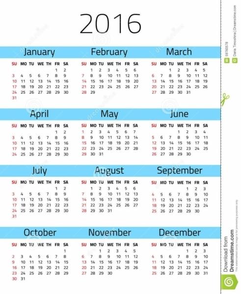 Calendario 2018 Semanas Numeradas   Calendar 2018