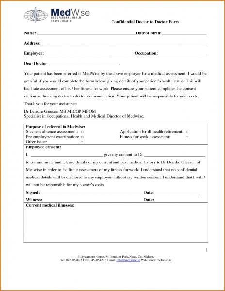 Printable Doctors Note   Ins.ssrenterprises.co