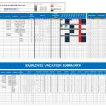 Calendar For Employees Vacation List