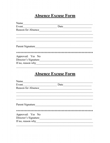 Best Photos Of Blank Printable Hospital Excuse Form   Blank