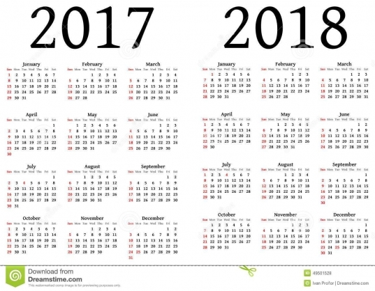 Government Julian Calendar 2017 | Calendar Template 2017