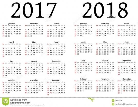 Government Julian Calendar 2017 | Calendar Template 2017