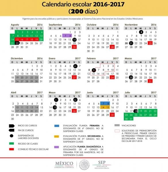 Los Puentes Que Habrá En 2017 Para Los Estudiantes De La Sep