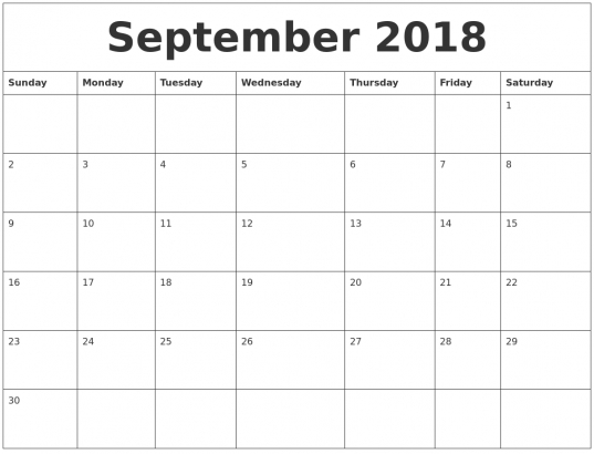 Free Printable Calendar 2018  Month   Ivedi.preceptiv.co