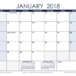 12 Month Calendars To Print