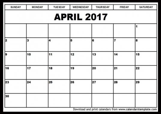Printable Blank Calendar 8.5 X 11 | Printable Diagram