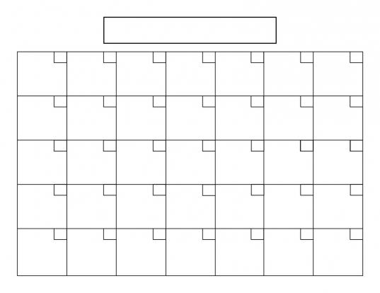 Blank Calendar 9 Free Printable Microsoft Word Templates Amazing 31