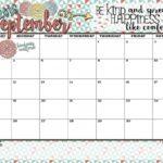 Decorative September Calendars To Print