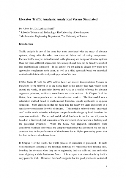 Pdf) The Use Of Numerical Methods To Evaluate The Performance Of Up