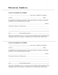 Blank Printable Doctor Excuse Form Template