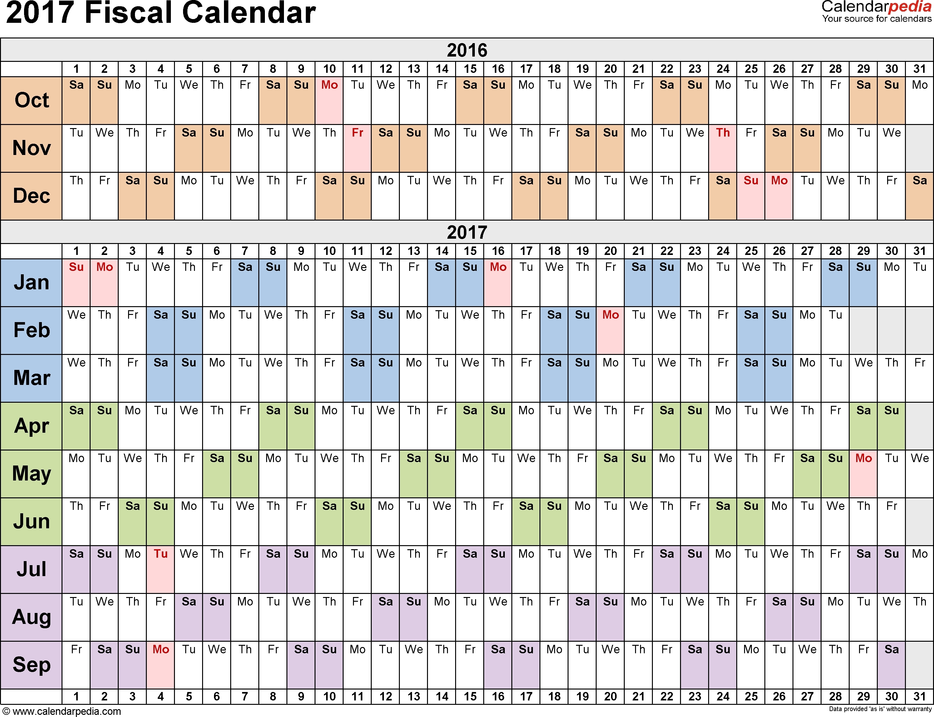 Calendar Days Of Year Numbered | Flash Design