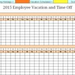 Yearly Calendar For Tracking Employees