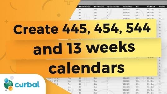 Create A Custom 4 4 5 Calendar That Self Generates In Power Bi   Power Bi  Tips & Tricks 23
