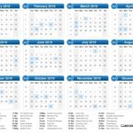 365 Day Numbered Calendar