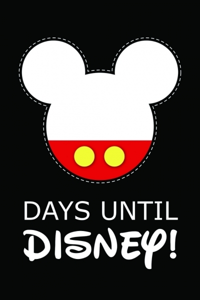 99 Days To Disney Printable Calendar   Calendar Inspiration