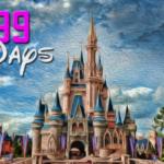 99 Days To Disney Countdown