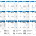 Calendario Por Semansas