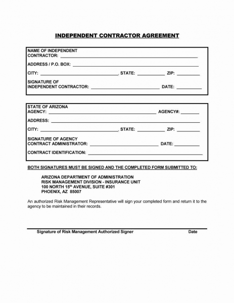 Construction Contract Template Free In 2020 | Contract