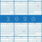 Calendar By Numbering The Days