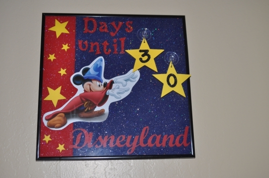 Disney Countdown Calendar Counts Down From 99 Days