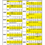 Gs 2020 Pay Period Calendar