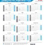 Fed Pay Calendar 2020