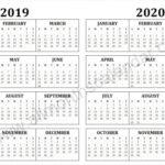 Quadax Julian Calendar 2020 Printable Free