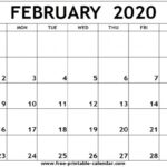 Free Calendars Fill And Print