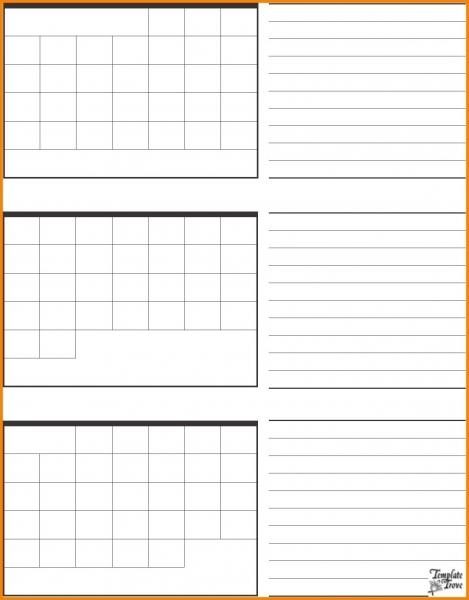 Free 3 Month Printable Calendar 2017 – Template Calendar