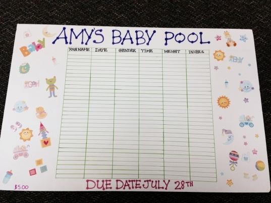 Office+ba+due+date+pool+template | Ba Pool, Ba