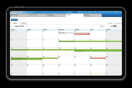Paid Time Off Tracker | Pto | Replicon