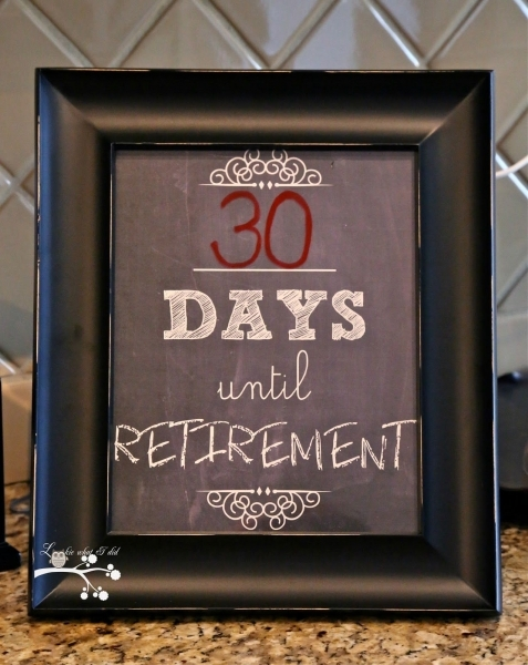 Retirement Countdown.free Printable | Retirement