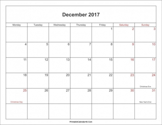 Take Printable Blank 31 Day Calendar | Blank Calendar
