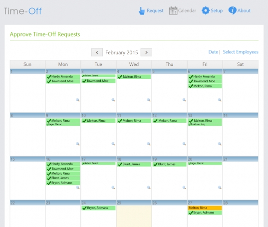 Time Off: Vacation Request Tracking Tool | Dovico
