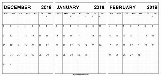 Unique 35 Sample Printable Calendar For January And February