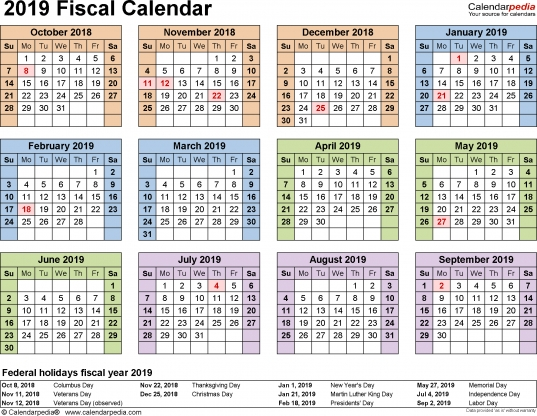 4 4 5 Calendar Excel 2019 | Excel Calendar Templates 2020