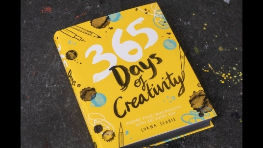 (book Flip) 365 Days Of Creativity: Inspire Your Imagination With Art Every  Day