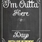 Free Countdown Calendar For Retirement